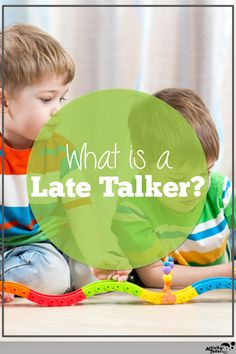 A late talker is a child between 18 and 30 months that isn't meeting expected language milestones, but is on track in other areas of development. By providing a language-rich home environment, parents can support their language delayed child and help them catch up to peers. Parent coaching is one of the best ways to support a late talker.