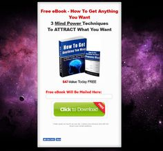 The Law of Attraction World Landing Page Example Attraction World, Landing Page Examples, Process Map, Mind Power, Free Ebooks, How To Get, Learning, Study, Teaching