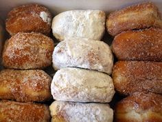 Fasnachts are basically a doughnut without a hole.