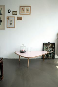 TABLE RED EDITION FIFTIES LIKE LARGE ROSE 480