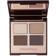 Charlotte Tilbury Luxury Palette Color-Coded Eyeshadows (165 BRL) ❤ liked on Polyvore featuring beauty products, makeup, eye makeup, eyeshadow, beauty, filler, the sophisticate and palette eyeshadow