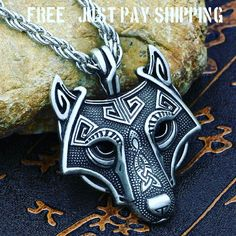 "VIKING WOLF HEAD NECKLACE AND PENDANT  TO BUY: Click the link in our bio to shop directly.  Direct purchase link: http://ift.tt/2wOGXkd  Price: $0.01.  VIKING WOLF HEAD NECKLACE AND PENDANT  Incredible Detail  Grabs attention  22"" Chain  Orders will process within 24hrs after payment.  Please allow 12 to 20 days to arrive from our Manufactures Warehouse.  This item is only 1 penny plus just pay the shipping and handling to get this to you.  Instagram selling powered by @SpreesyCo #spreesy…"
