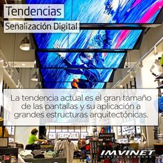 Mientras más grande sea la publicidad mayor impacto generará... La Señalización Digital ha tomado parte de grandes edificaciones  plazas y diversos comercios causando mayor impacto en el público que vallas estáticas