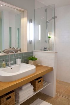 Coastal Retreat Bathroom