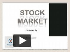Brief Introduction about Indian Share Market
