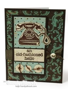 Old Fashioned Hello by Sandy Allnock
