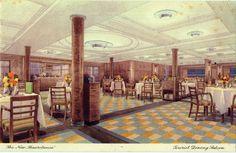 The Tourist Dining Salon - The Mauretania