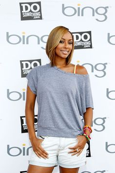 Tremendous Keri Hilson Short Hairstyles And Hairstyles On Pinterest Short Hairstyles Gunalazisus