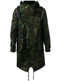 GIVENCHY printed hooded jacket. #givenchy #cloth #jacket