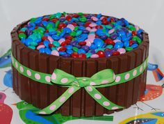 Candy Basket Cake ~ NutMeg Confections