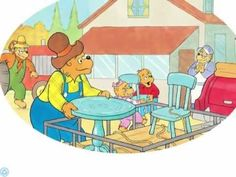 reading of the book The Bernstain Bears Give Thanks Thanksgiving Videos For Kids, Thanksgiving Stories, Thanksgiving Crafts For Kids, Thanksgiving Activities, Holiday Activities, Berenstain Bears, Library Activities, Turkey Time, School Videos