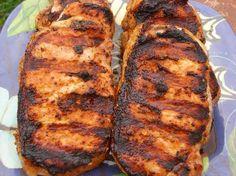 Spicy Sweet Southwestern Pork Loin Chops
