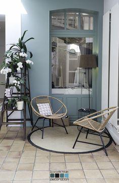 Esprit Jungle - Little Deco Basement Remodel Diy, Basement Remodeling, Moroccan Design, Moroccan Decor, Hallway Colours, Ceramic Floor Tiles, Home Staging, Decoration, Home Projects