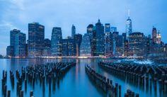 Down Town Manhattan Skyline.