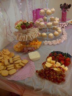 Tea party snacks