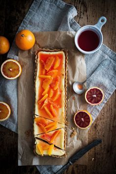 Red Orange Cheesecake with White Chocolate & Browned Butter: Made By Mary