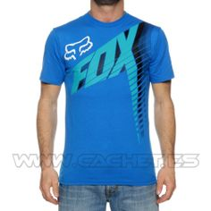 Camiseta Fox Horizon 2014 Blue- Cachet.es a14cb075593