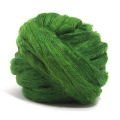 Paradise Fibers Dyed Tussah Silk Top Roving