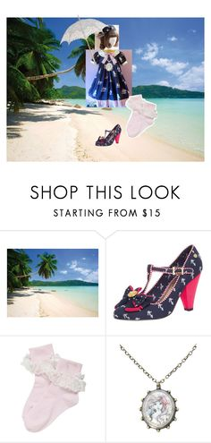 """""""#47: Let's Sail Away for a Year and a Day (Beach)"""" by ladymienshao ❤ liked on Polyvore featuring 1Wall, Babycham and Disney"""