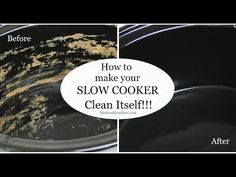"Never scrub a slow cooker again. Here's how to have it ""clean itself"""