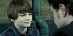 """Albus Severus Potter talking to his father during the """"Harry Potter and the Deathly Hallows: Part II"""" movie. Description from businessinsider.com. I searched for this on bing.com/images"""
