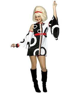 Miss Mod Adult Costume