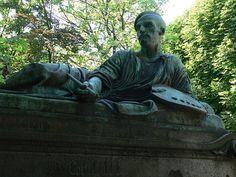 * Grave of Théodore Géricault * # Père Lachaise Cemetery. Paris, França.