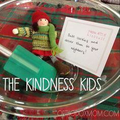 The Kindness Kids {an alternative to elf on the shelf} Random Act of Kindness: Bake cookies and deliver them to your neighbors! Country Christmas, Christmas Angels, Christmas Holidays, Christmas Crafts, Kindness Elves, Elf Magic, The Birth Of Christ, Christmas Activities, Family Traditions