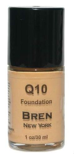 CoQ10 Foundation Shade Sand  Get an instant face-lift!  Contains Co-Enzyme Q10, an anti-aging ingredient that will minimize fine lines, smooth out wrinkles, and leave skin feeling youthful and luminous.. Provides a medium to full matte finish.  1 oz. Made in the USA $24.00