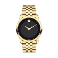 MOVADO Museum Goldtone PVD Bracelet Watch