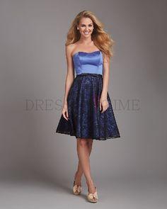 Classic Sweetheart Empire Waist Sashes Knee-Length Lace Bridesmaid dress WPBD-9795