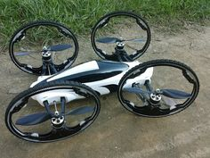 Flying Car, Expendables 3 drone - Thrill On