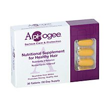 Shop for Healthy Hair Vitamin Supplement by ApHogee at Sally Beauty. Promotes strong, healthy hair by supplying vitamins, minerals and other nutrients that may be lacking in your diet. Grow Thicker Hair, Grow Long Hair, Grow Hair, New Hair Growth, Healthy Hair Growth, Growth Oil, Hair Growth Gummies, Vitamins For Healthy Hair, Best Hair Vitamins