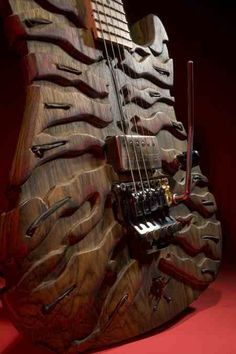 Here is a Lynch Mr. Scary guitar