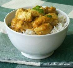 Indické kuřecí kari Organic Recipes, Indian Food Recipes, Ethnic Recipes, No Salt Recipes, Chicken Recipes, Potato Salad, Macaroni And Cheese, Ale, Good Food