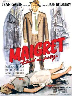 Maigret tend un piège est un film franco-italien adapté du roman éponyme de Georges Simenon, réalisé par Jean Delannoy et sorti en 1958. Dans le quartier parisien du Marais, plusieurs femmes seules ont été successivement assassinées chaque fois la nuit venue. Le commissaire Maigret soupçonne le criminel de chercher à le provoquer. Il fait arrêter un faux coupable consentant, Mazet, de manière à obliger le vrai meurtrier à se manifester lors de la reconstitution du dernier crime.