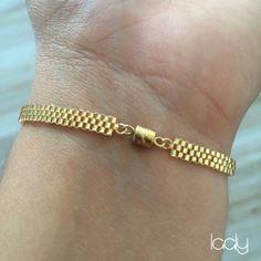 "Laaly Créations - Bracelet ""Œil Turc"" or"