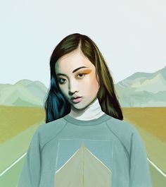 Kemi Mai - Out There - Digital drawing