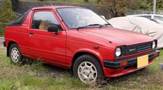 http://chicerman.com  carsthatnevermadeit:  Suzuki Mighty Boy 1983-1988. Cant have a Suzuki Sunday without alighting on the Mighty Boy perhaps the car with the best model name EVER. It was the only Kei-class pick-up ever but was not replaced when production ceased in 1988 though the Mighty Boy now has a cult following  #cars