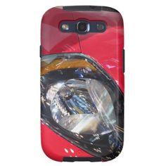 Red Car Samsung Galaxy SIII Cover