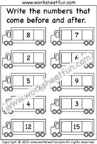 Numbers – Before, After, and Between / FREE Printable Worksheets – Worksheetfun Tracing Worksheets, Writing Practice Worksheets, First Grade Worksheets, Printable Preschool Worksheets, Free Kindergarten Worksheets, Kindergarten Math Worksheets, Free Printables, Nursery Worksheets, Hindi Worksheets