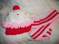 This is our Crochet Valentines Day Cupcake ... | Crochet hats and glo ...