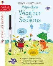 Weather And Seasons Usborne Key Skills In 2020 Cleaning Wipes Kids Learning Usborne Books
