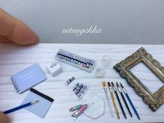 Miniature art ♡ ♡ By setsugekka
