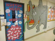 Artistic Freedom: Seuss Door Decorating Results...