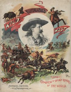 Buffalo Bill Cody 1893 Program