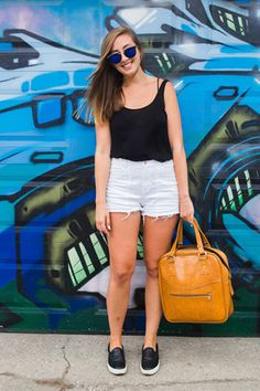 Toronto Street Style: Frances in a Short State of Mind
