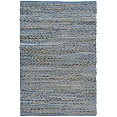 Found it at AllModern - Earth First Blue Jeans Handcrafted Area Rug (Master BR)