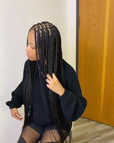 10 Natural Braided Hairstyles Without Weave Ideas Mens Braids Hairstyles, Braided Hairstyles For Black Women, My Hairstyle, African Hairstyles, Girl Hairstyles, Small Box Braids Hairstyles, Baddie Hairstyles, Vintage Hairstyles, Straight Hairstyles