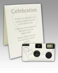 Camaras desechables para bodas en www.regalos-boda.com